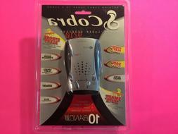 Cobra  10 Band Radar/Laser Detector, 360 Degree Protection N