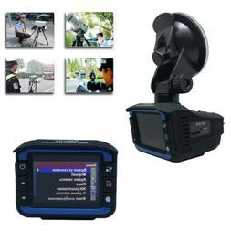 1080P Anti Radar Laser Speed Detector Car DVR Recorder Video