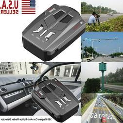 16 Band Car Trucker Speed Voice Alert Warning V9 Laser Radar