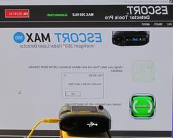 2 car kit escort max360 laser radar detector locator 85 seri