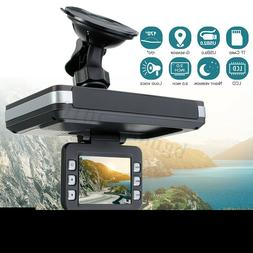 2 in1 Car Camera DVR Recorder +Radar Laser Speed Detector Al