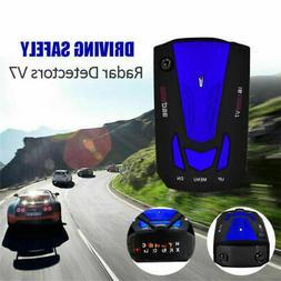 V7 360° Car 16 Band GPS Speed Police Safe Radar Detector Vo
