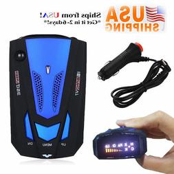 360 Degree Car 16 Band V7 GPS Speed Safe Radar Detector Voic