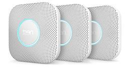 Nest Protect Smoke Carbon Monoxide Alarm, Battery , 3 Pack