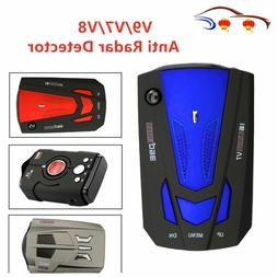 Anti Radar Detector Car 360 Degre 16 Band LED Display V9/V7/