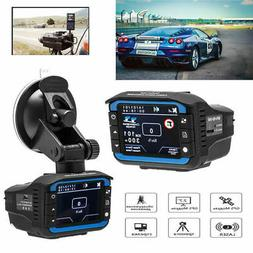 Anti Radar Laser Speed Detector 1080P Car DVR Recorder Video