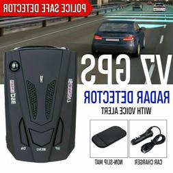 Car Radar 16 Band V7 GPS Speed Police Safe Detector Voice Al