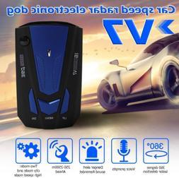 Car V7 Cobra 16 Band 360 Anti-Police GPS Camera Laser Radar