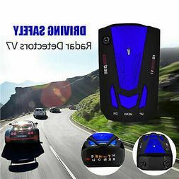Car V7 Cobra 16 Band 360 GPS Anti-Police Camera Laser Radar