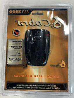 Cobra ESD 7000 Radar Detector Brand New Factory Sealed
