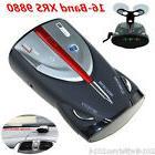 16-Band Auto Car Radar Detectors Cobra XRS 9880 360° Laser