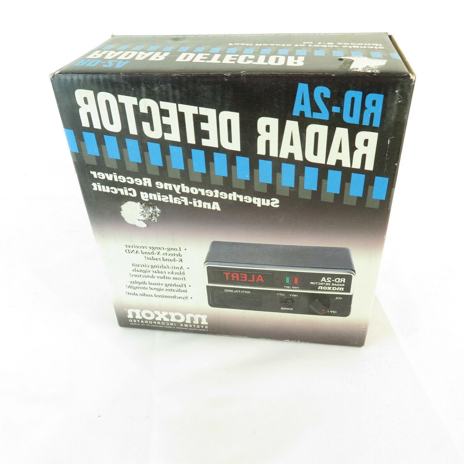 nos radar detector black long range anti