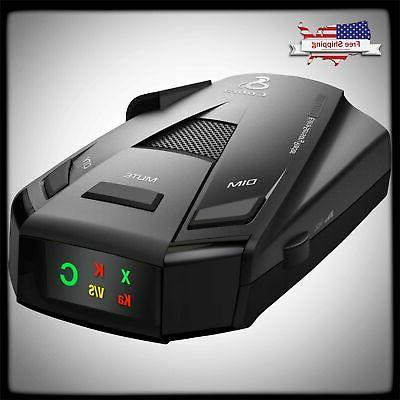radar detector laser police alert car speed