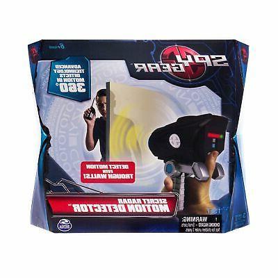 secret radar motion detector secret agent gadget