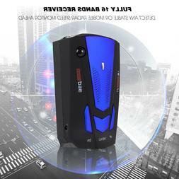 Laser Radar Detector Best Police Scanner Cop For Cars Kit Mo