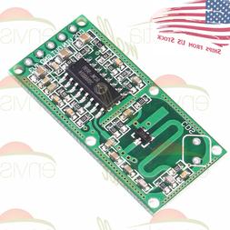 Microwave Doppler Radar Motion Detector Sensor RCWL-0516 Mod