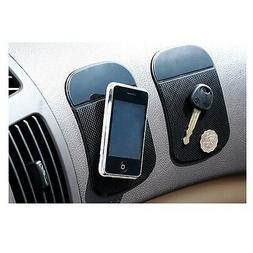 Magic Mat Mini 2pc Car Sticky Pad Anti-Slip Phone iPHONE mp3