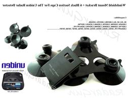 R1, R3 Windshield Mount Bracket+6 Blk Suction Cups For All U