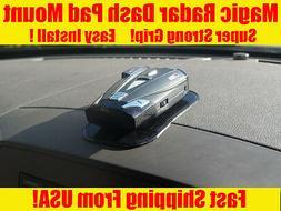 Radar Detector Mount Dashboard For Beltronics Passport Cobra