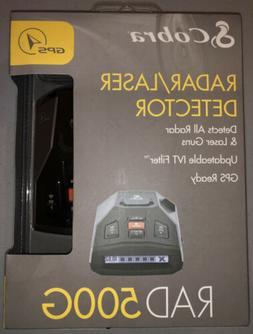 cobra radar detector RAD 500G