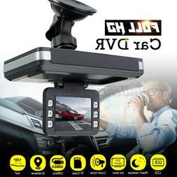 """TFT 2.0"""" Auto Car DVR Radar Dash Cam Recorder Camera Video S"""