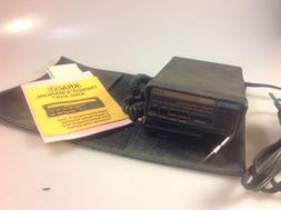 Vintage Kraco KRD-9507 Radar Detector, W/ Case & Manual