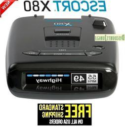 ESCORT X80 Radar Laser Detector with Bluetooth Extreme Long